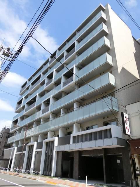 東京都中央区、越中島駅徒歩19分の築2年 8階建の賃貸マンション