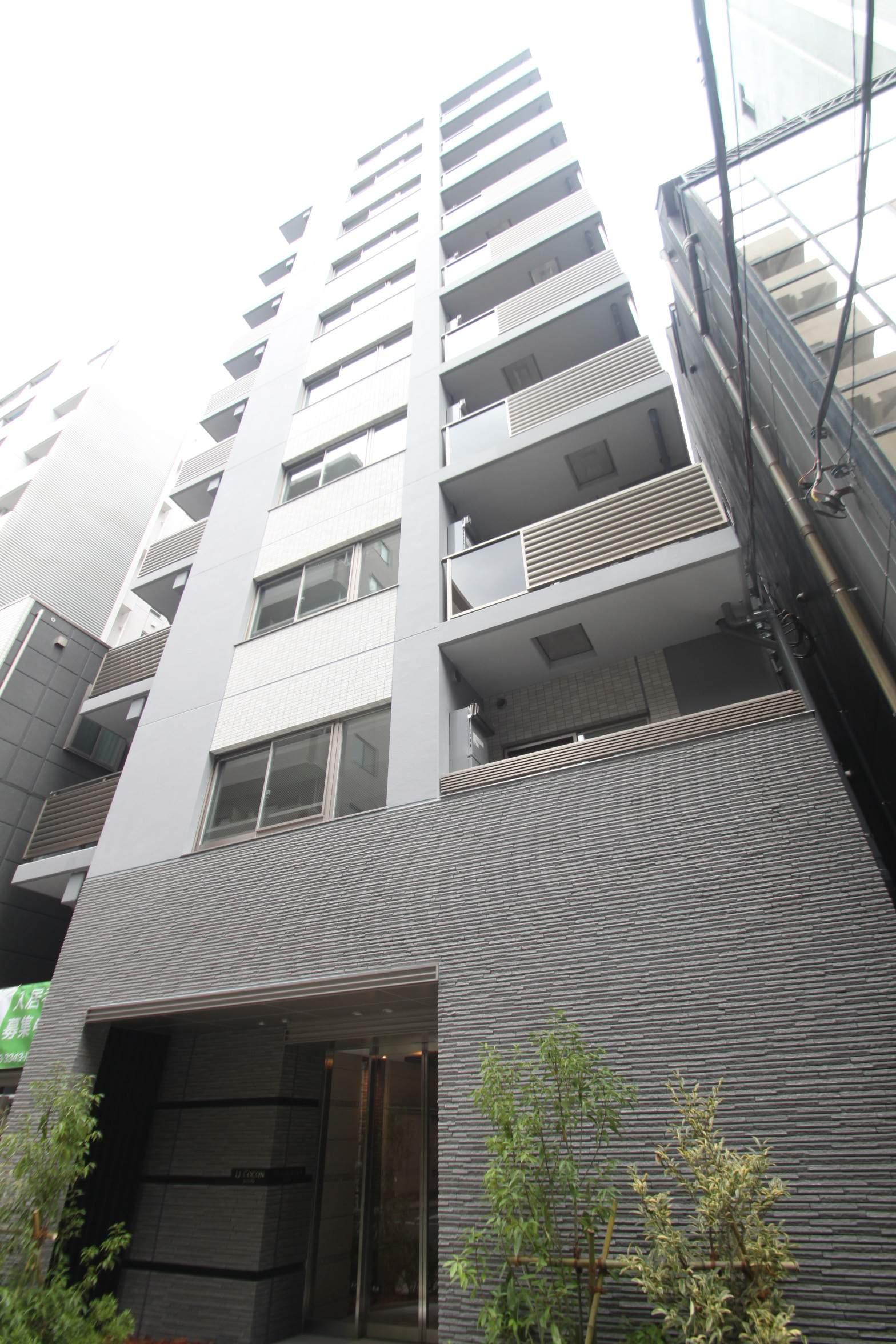 東京都中央区、人形町駅徒歩4分の新築 10階建の賃貸マンション