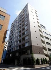 東京都中央区、水天宮前駅徒歩10分の築13年 12階建の賃貸マンション