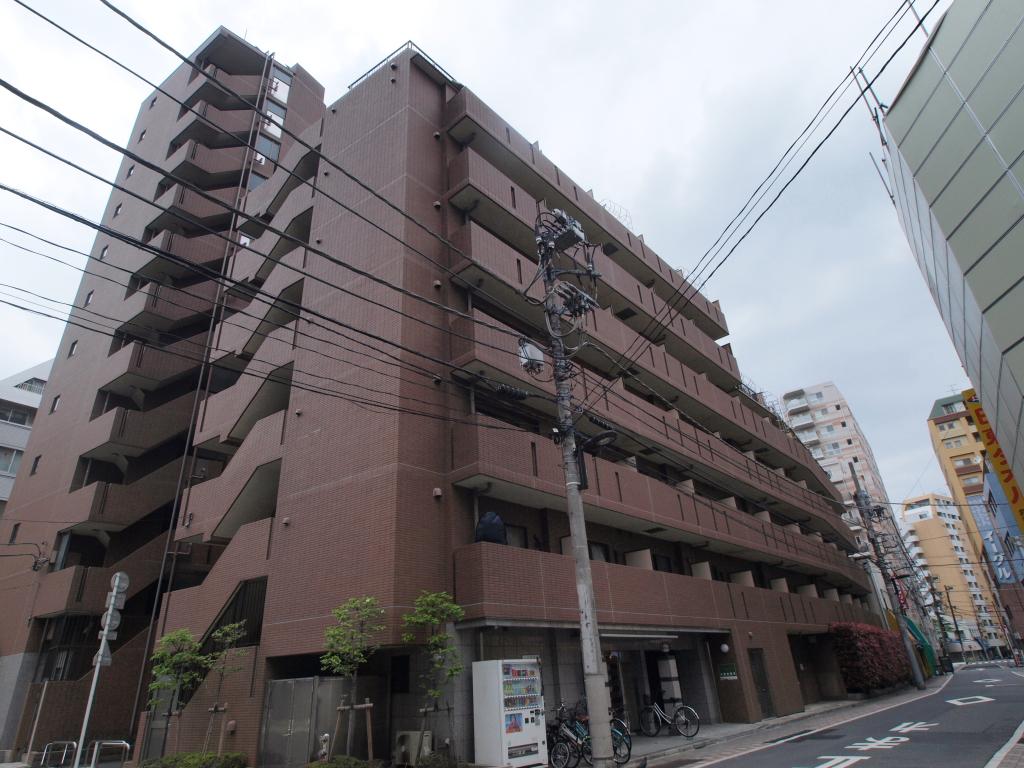 東京都千代田区、神田駅徒歩12分の築13年 8階建の賃貸マンション
