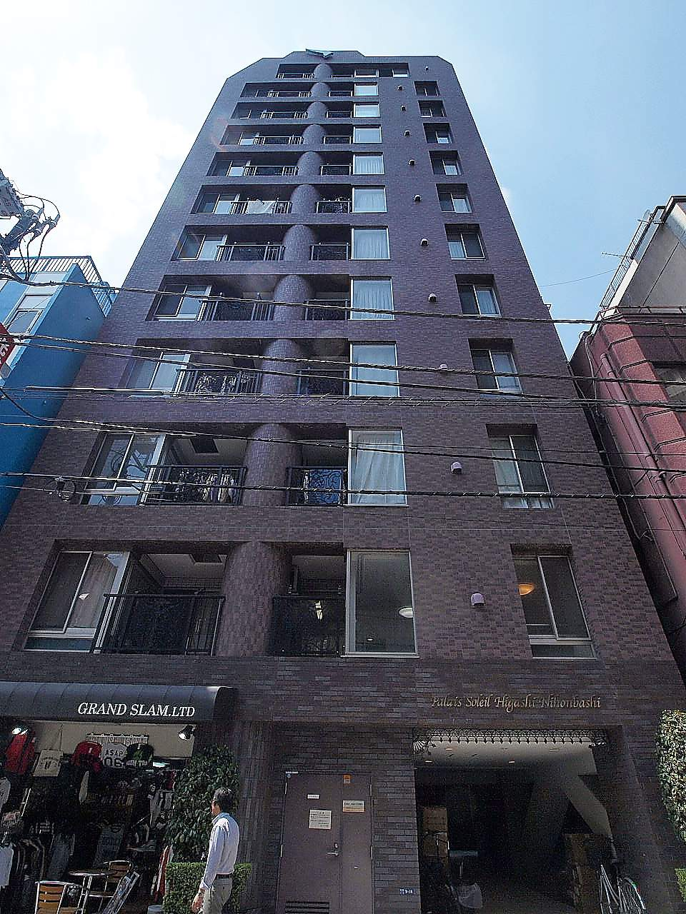 東京都中央区、馬喰町駅徒歩4分の築10年 12階建の賃貸マンション