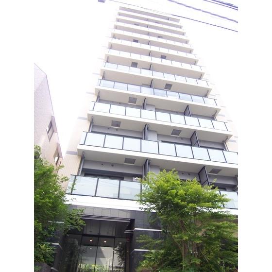 東京都新宿区、市ケ谷駅徒歩9分の築5年 12階建の賃貸マンション
