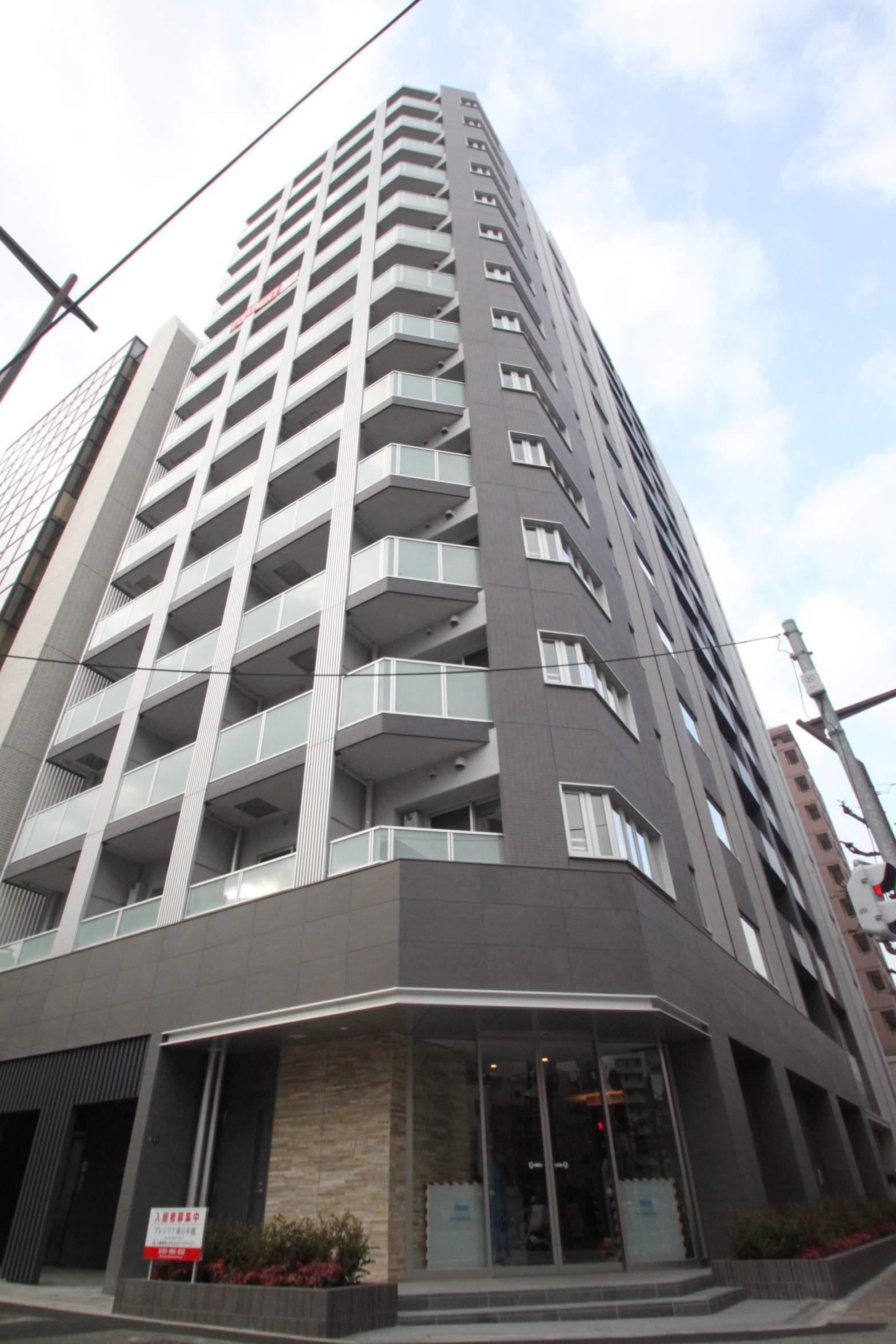 東京都中央区、馬喰町駅徒歩2分の築4年 14階建の賃貸マンション
