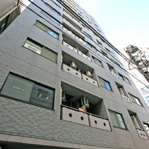 東京都中央区、東日本橋駅徒歩1分の築17年 12階建の賃貸マンション
