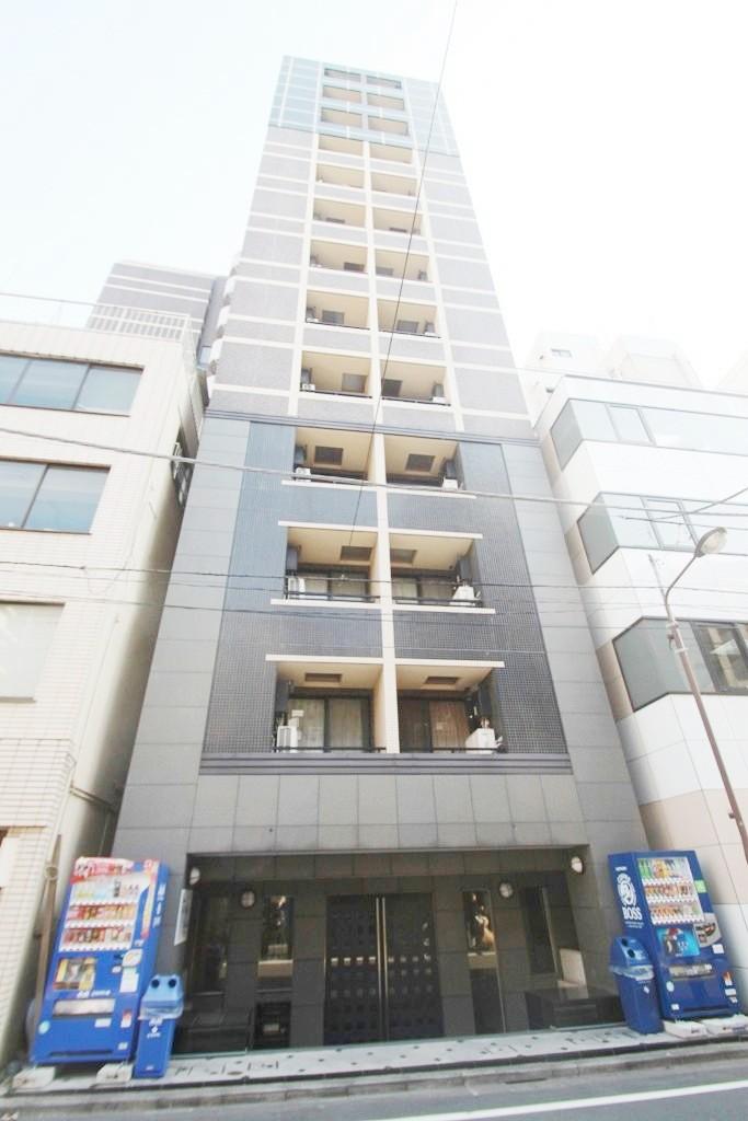 東京都千代田区、神田駅徒歩2分の築13年 13階建の賃貸マンション
