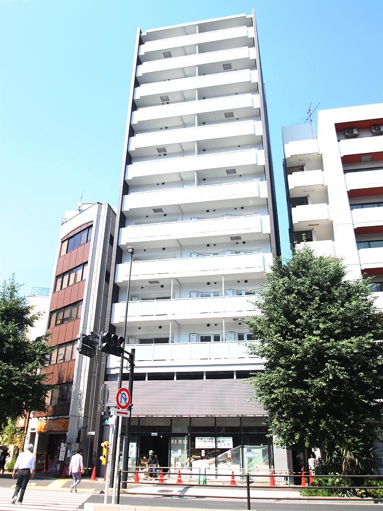 東京都文京区、御茶ノ水駅徒歩8分の築2年 13階建の賃貸マンション