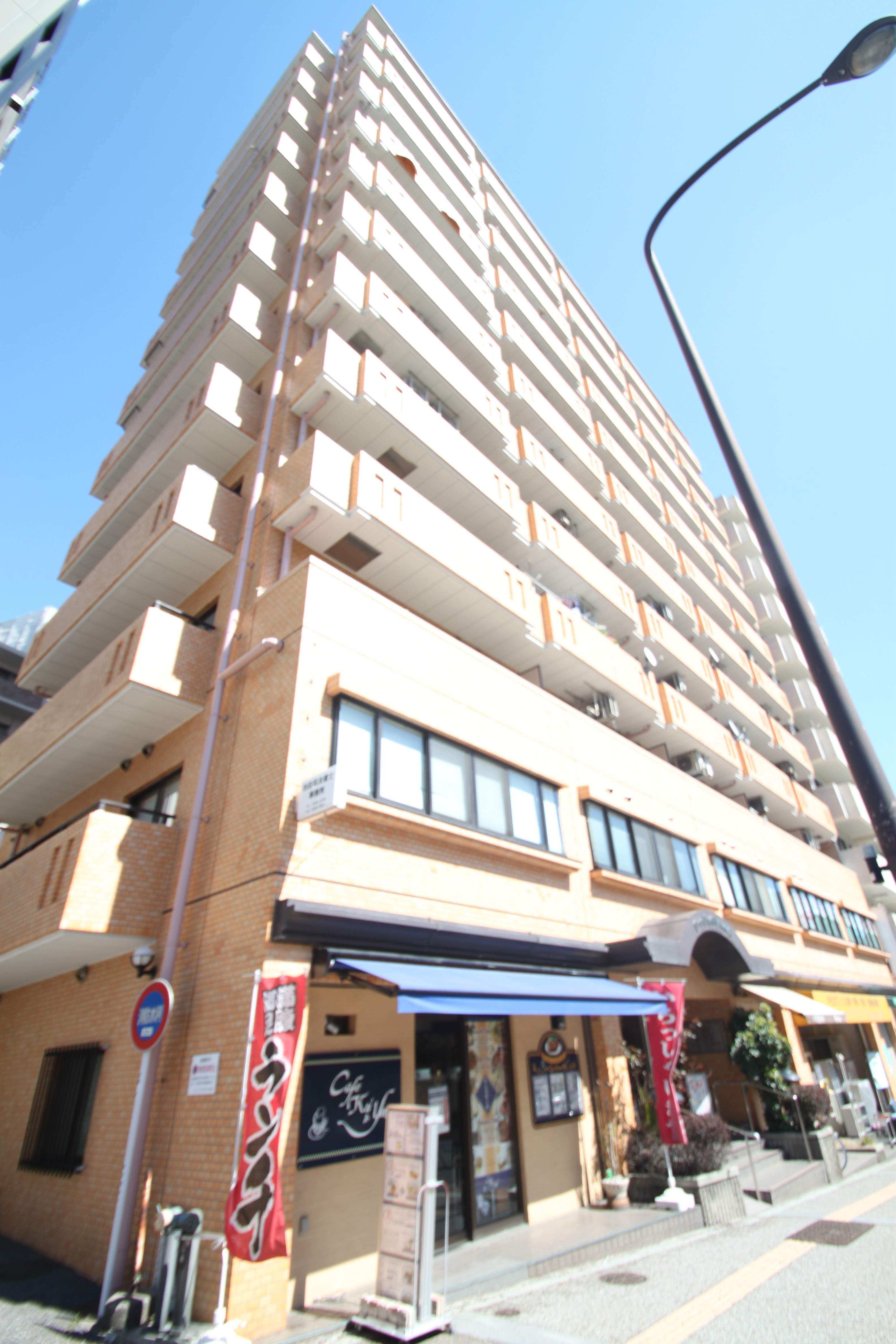 東京都文京区、御茶ノ水駅徒歩6分の築33年 13階建の賃貸マンション