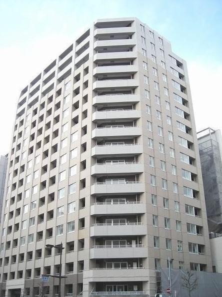 東京都中央区、秋葉原駅徒歩13分の築10年 17階建の賃貸マンション