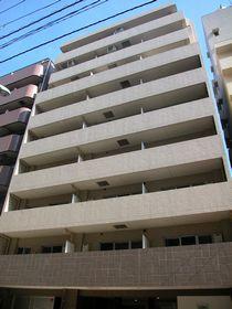 東京都中央区、築地駅徒歩16分の築10年 9階建の賃貸マンション