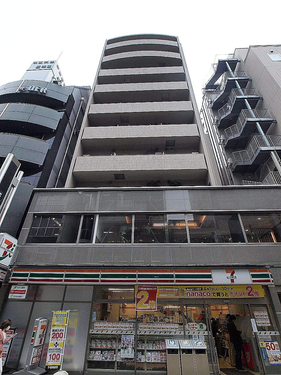 東京都千代田区、九段下駅徒歩9分の築10年 10階建の賃貸マンション