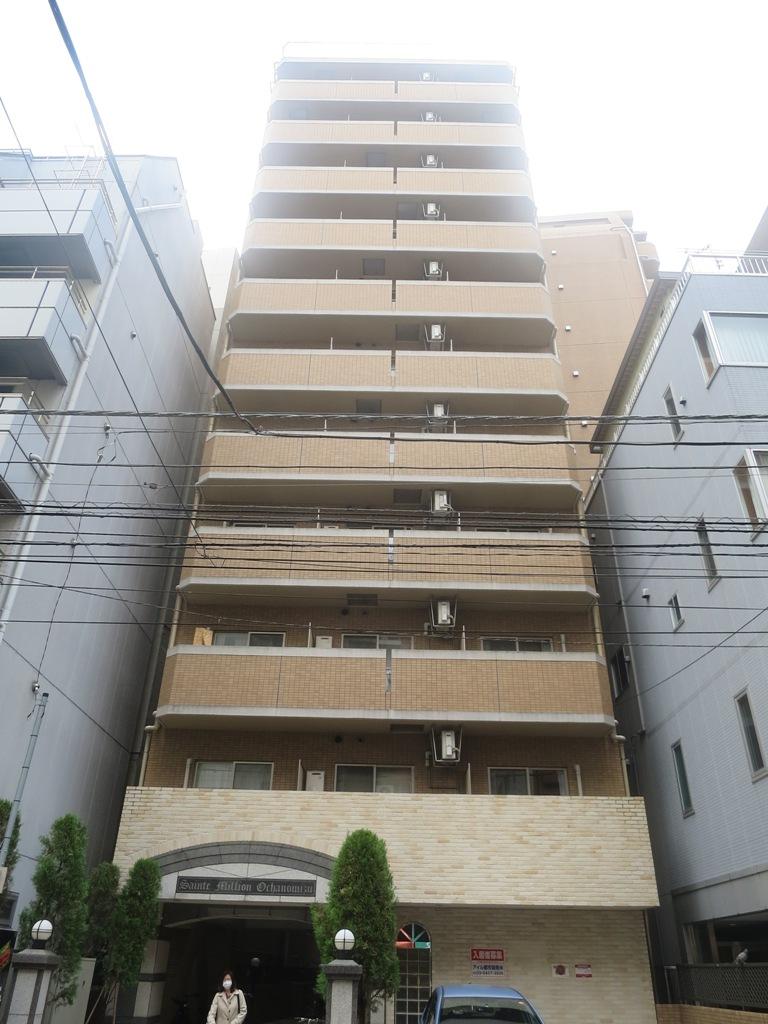 東京都千代田区、淡路町駅徒歩4分の築13年 13階建の賃貸マンション