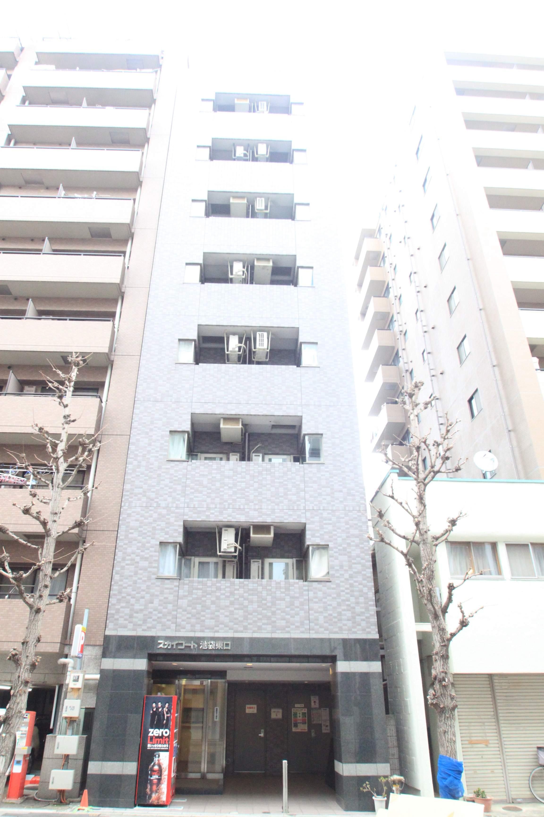 東京都豊島区、池袋駅徒歩8分の築17年 11階建の賃貸マンション