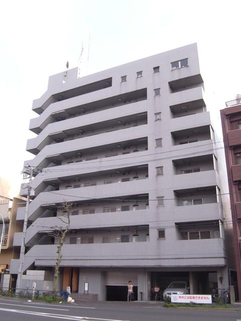 東京都新宿区、下落合駅徒歩2分の築25年 8階建の賃貸マンション