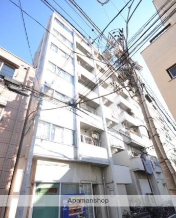 東京都豊島区、池袋駅徒歩15分の築38年 7階建の賃貸マンション