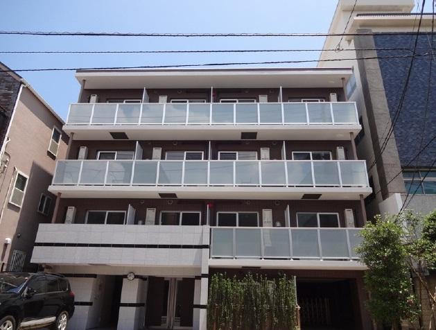 東京都江東区、東陽町駅徒歩25分の築3年 4階建の賃貸マンション