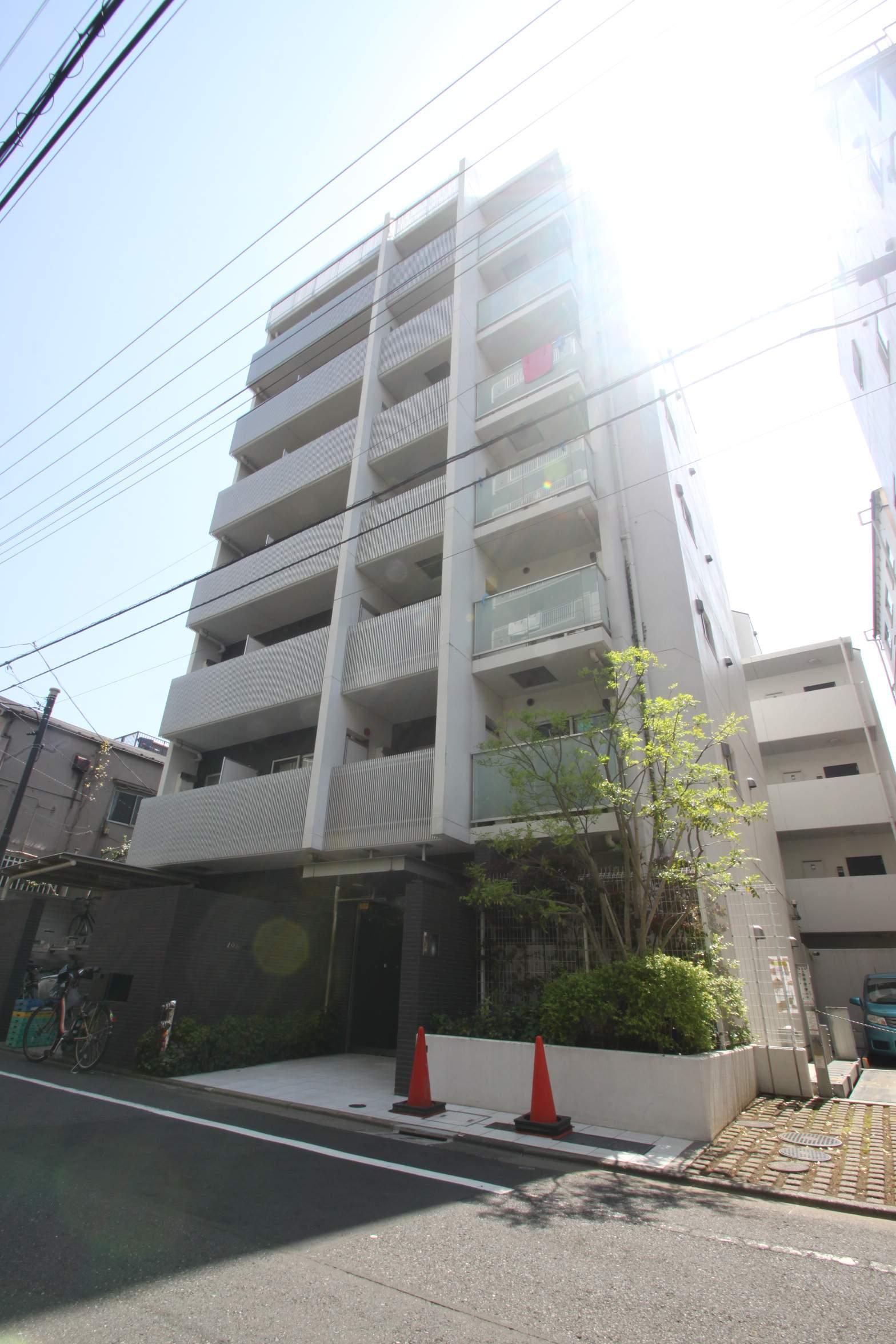 東京都江東区、越中島駅徒歩8分の築8年 8階建の賃貸マンション