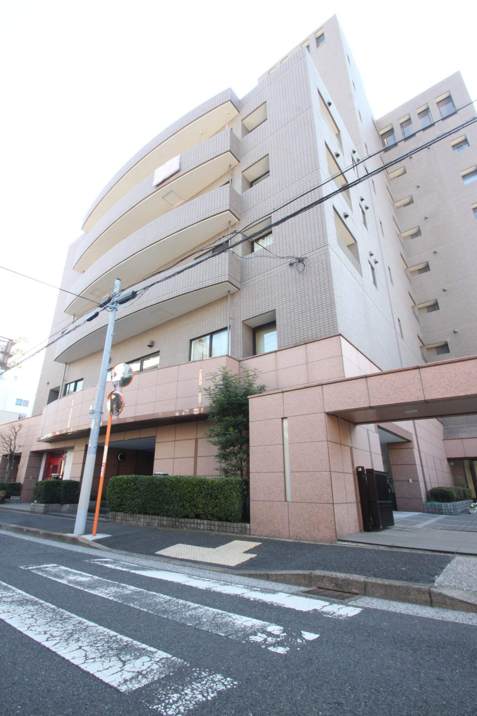 東京都江東区、門前仲町駅徒歩16分の築29年 9階建の賃貸マンション