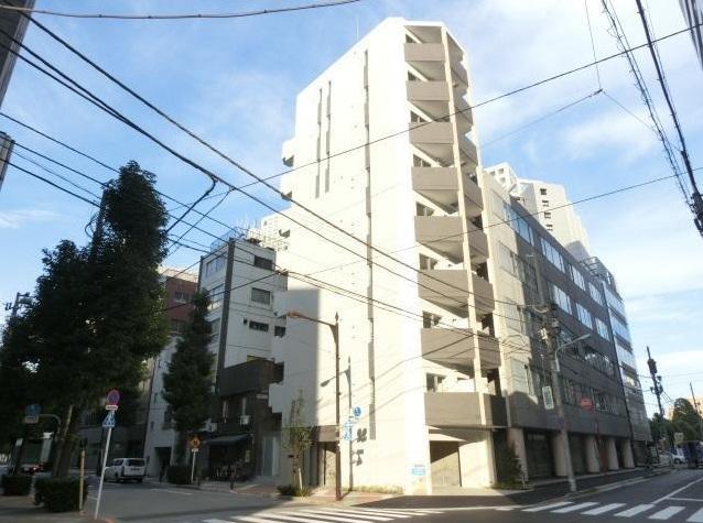 東京都中央区、八丁堀駅徒歩12分の築2年 9階建の賃貸マンション