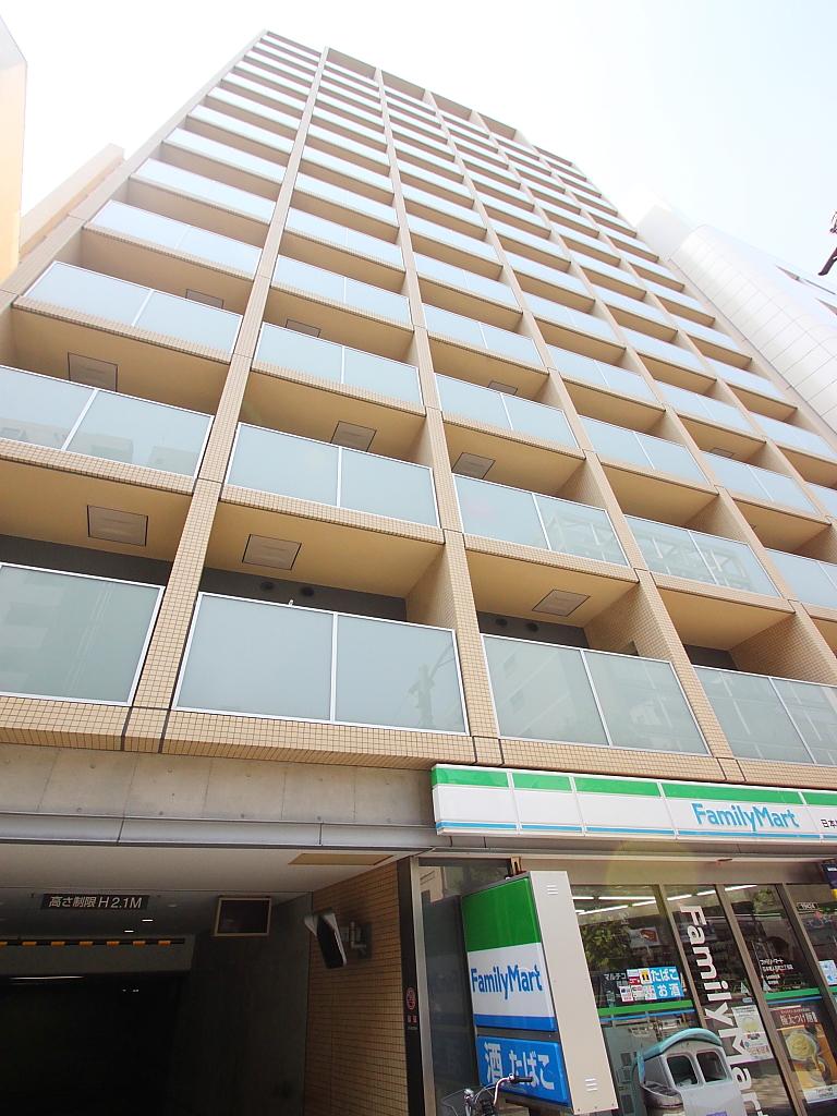 東京都中央区、小伝馬町駅徒歩8分の築10年 14階建の賃貸マンション