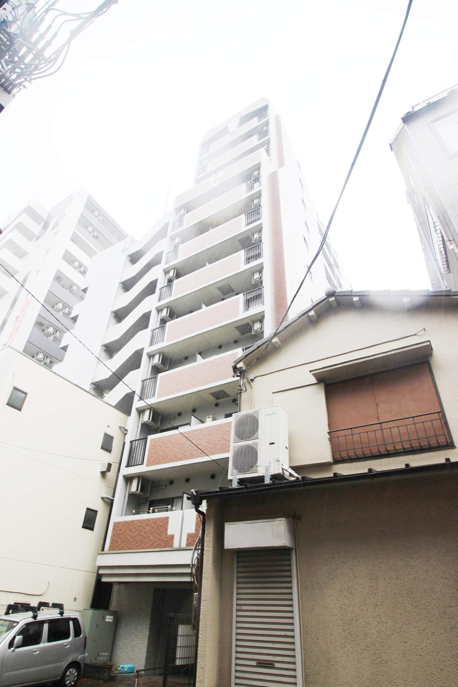 東京都墨田区、両国駅徒歩2分の築15年 12階建の賃貸マンション