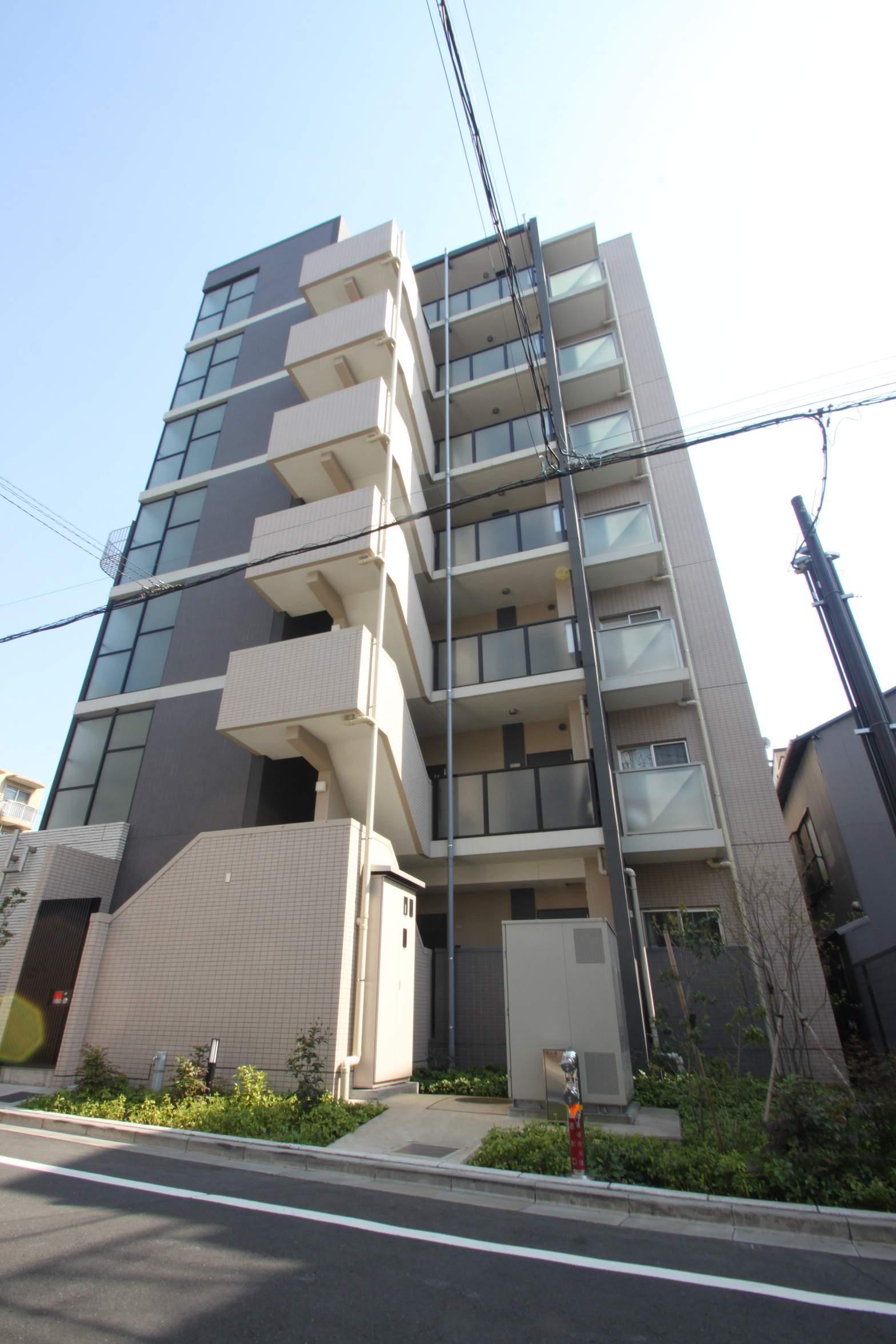 東京都江東区、木場駅徒歩8分の築3年 7階建の賃貸マンション