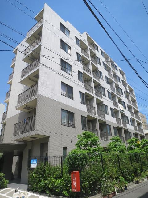 東京都江東区、越中島駅徒歩13分の築9年 9階建の賃貸マンション