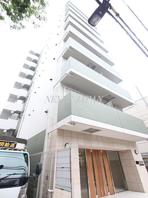 東京都江東区、越中島駅徒歩5分の築7年 10階建の賃貸マンション