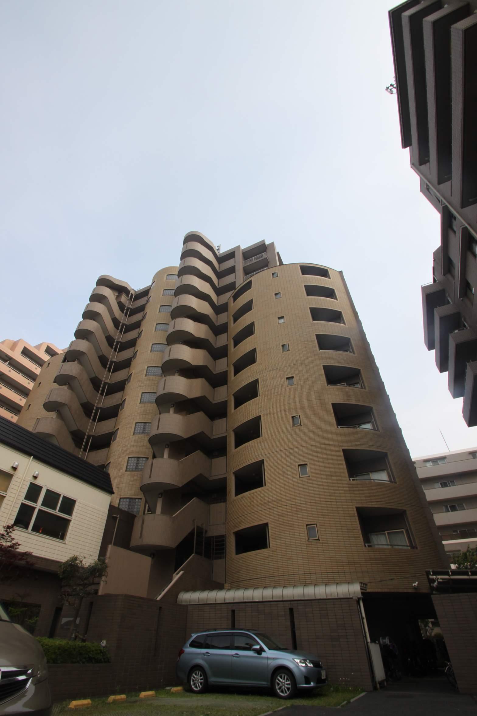 東京都江東区、住吉駅徒歩9分の築15年 12階建の賃貸マンション