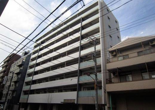 東京都墨田区、両国駅徒歩8分の築5年 9階建の賃貸マンション