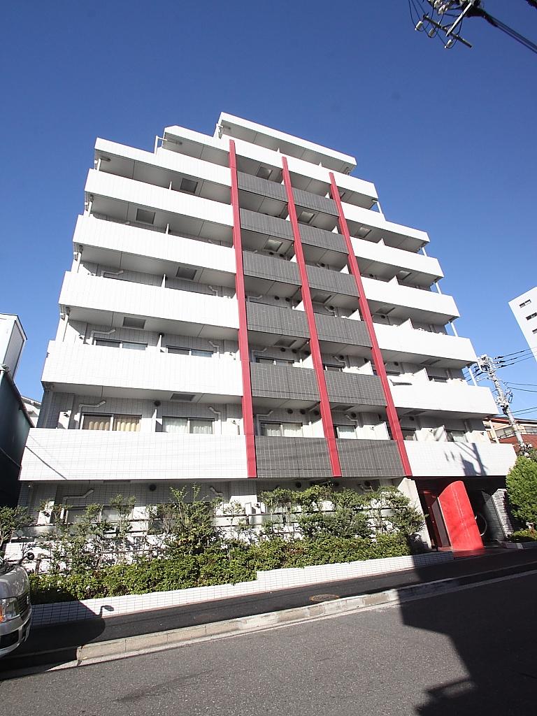 東京都江東区、門前仲町駅徒歩12分の築9年 8階建の賃貸マンション