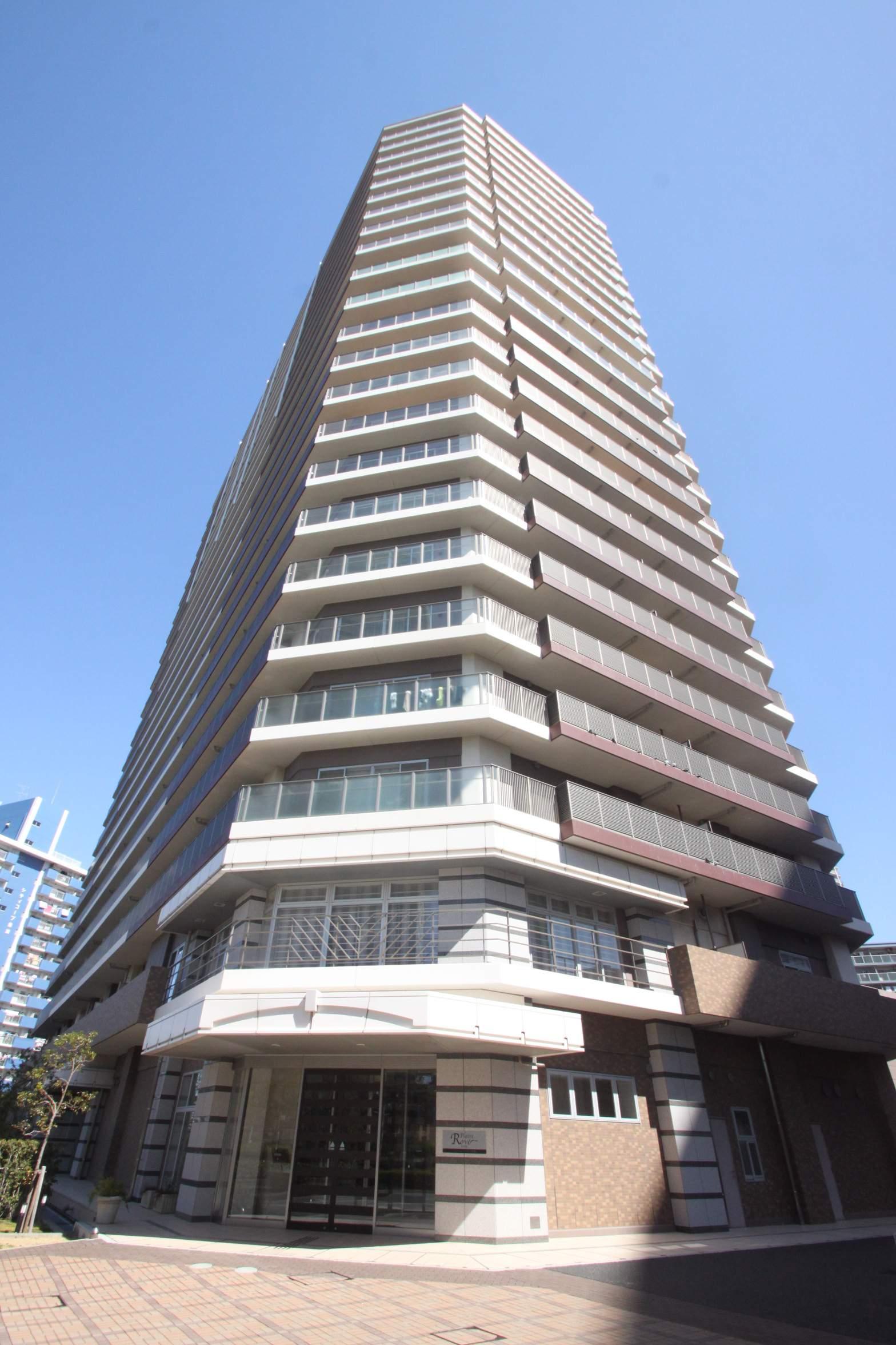 東京都江東区、越中島駅徒歩10分の築9年 23階建の賃貸マンション