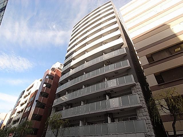 東京都中央区、銀座一丁目駅徒歩5分の築10年 14階建の賃貸マンション