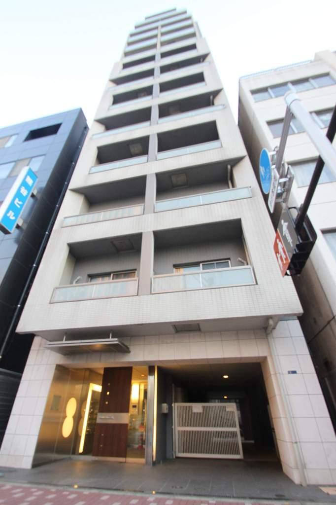 東京都江東区、越中島駅徒歩13分の築13年 13階建の賃貸マンション