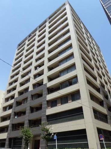 東京都中央区、茅場町駅徒歩9分の築10年 14階建の賃貸マンション