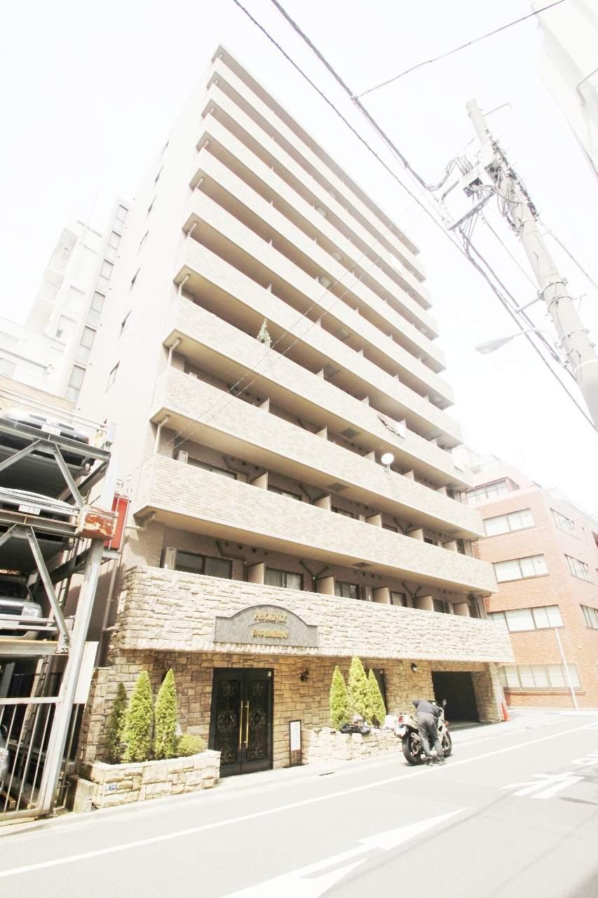 東京都中央区、茅場町駅徒歩6分の築13年 13階建の賃貸マンション