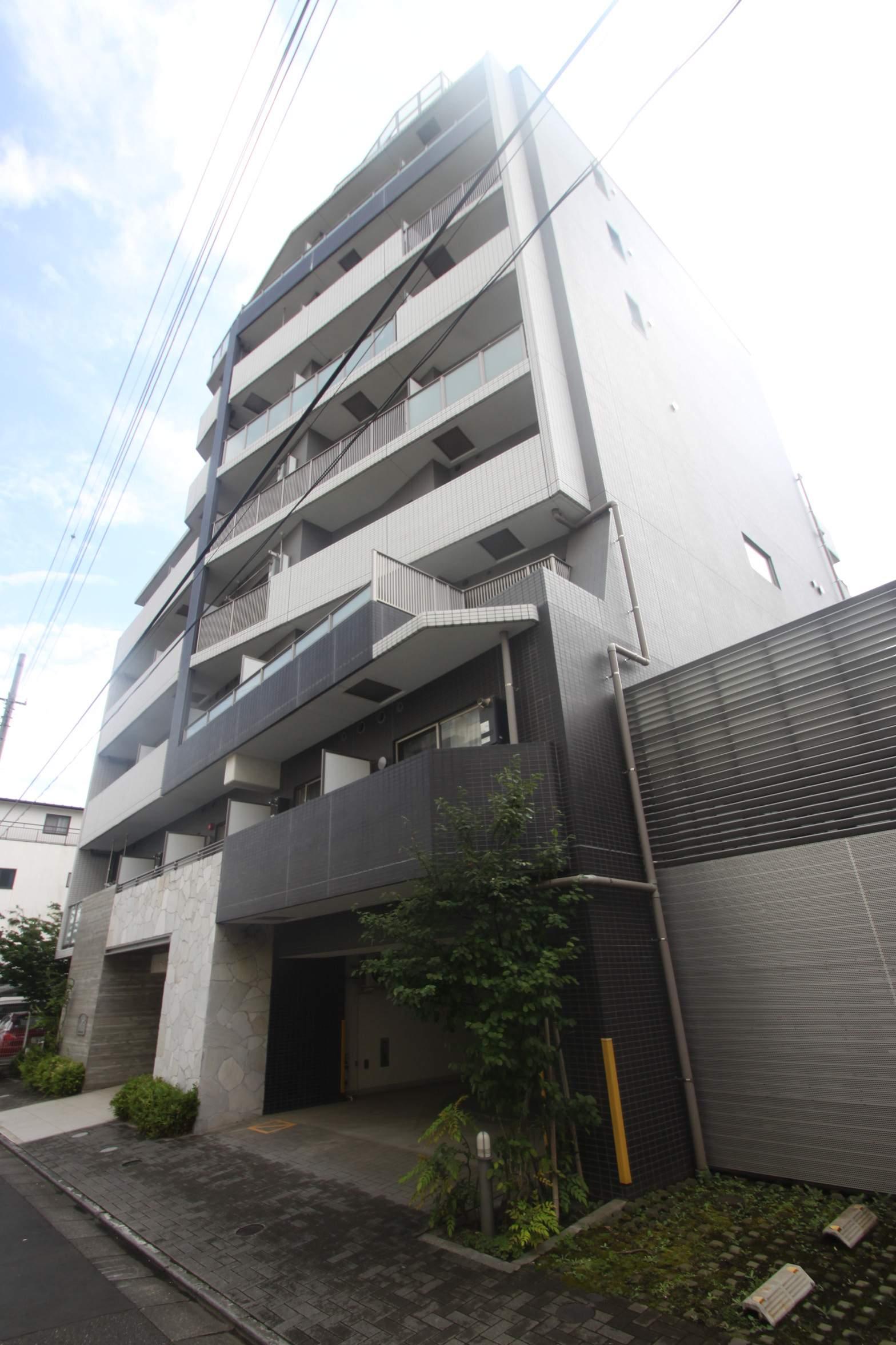 東京都江東区、越中島駅徒歩19分の築8年 9階建の賃貸マンション