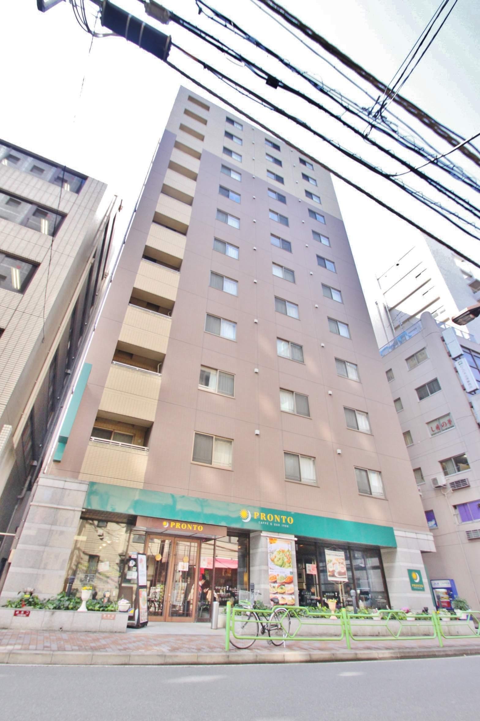 東京都中央区、八丁堀駅徒歩4分の築12年 12階建の賃貸マンション