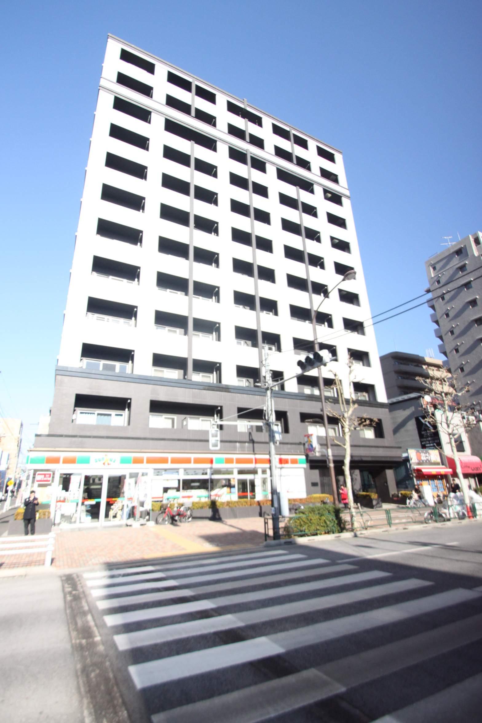東京都中央区、月島駅徒歩5分の築9年 12階建の賃貸マンション