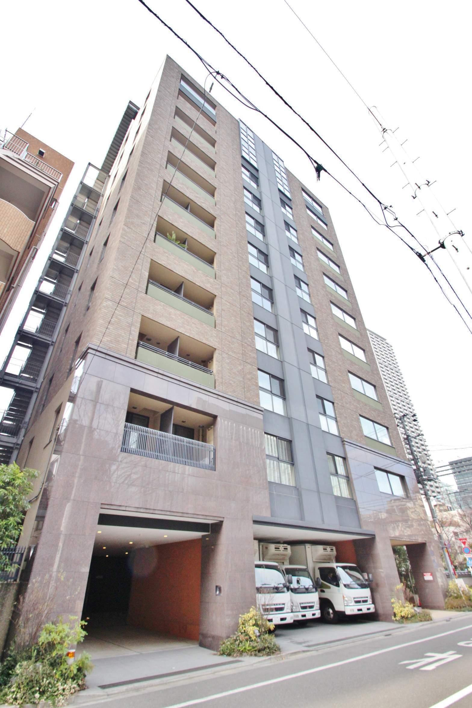 東京都中央区、水天宮前駅徒歩2分の築9年 11階建の賃貸マンション