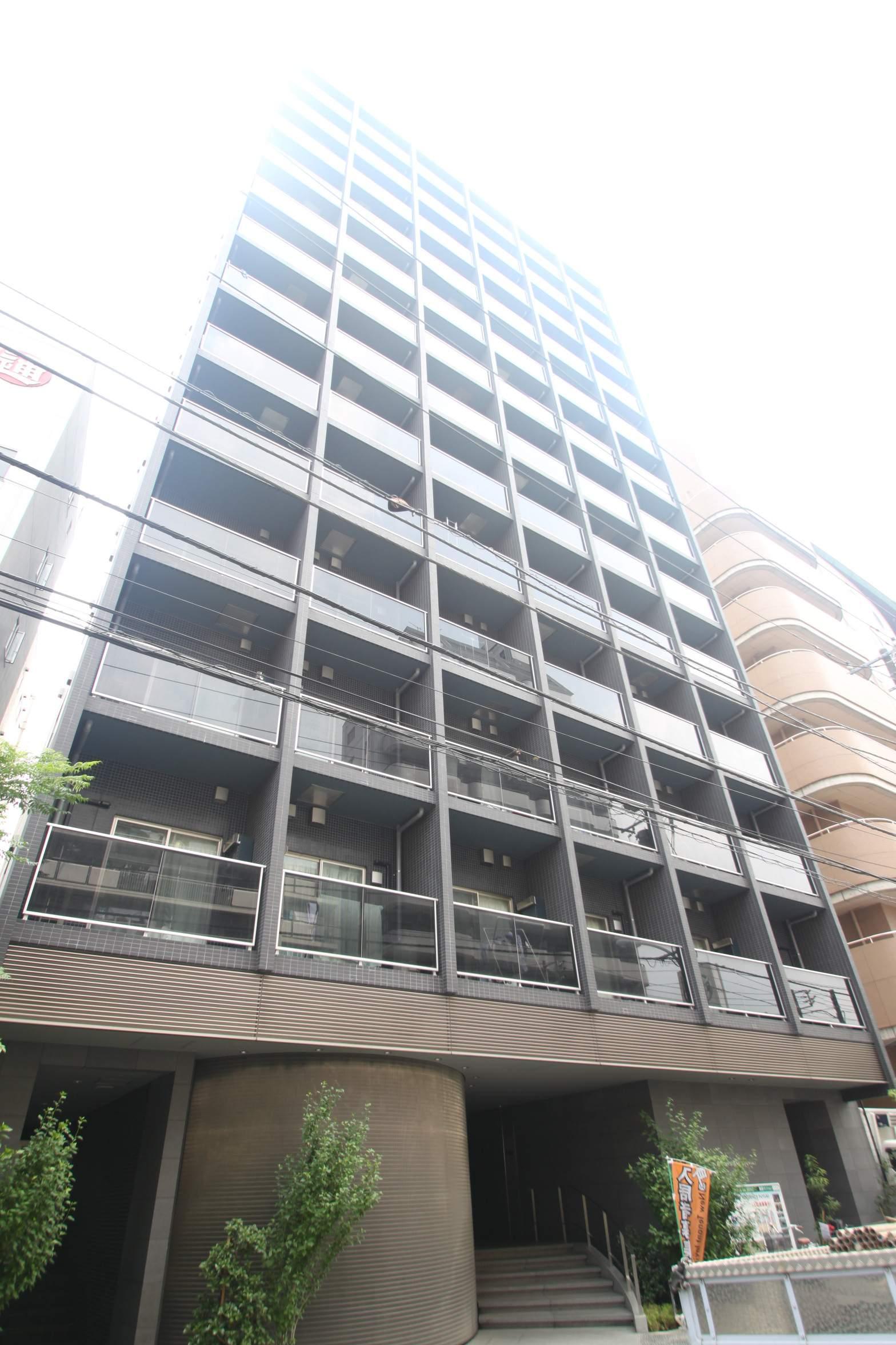 東京都江東区、門前仲町駅徒歩8分の築8年 13階建の賃貸マンション