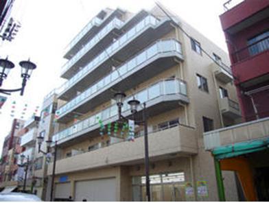 東京都江東区、錦糸町駅徒歩11分の築8年 7階建の賃貸マンション