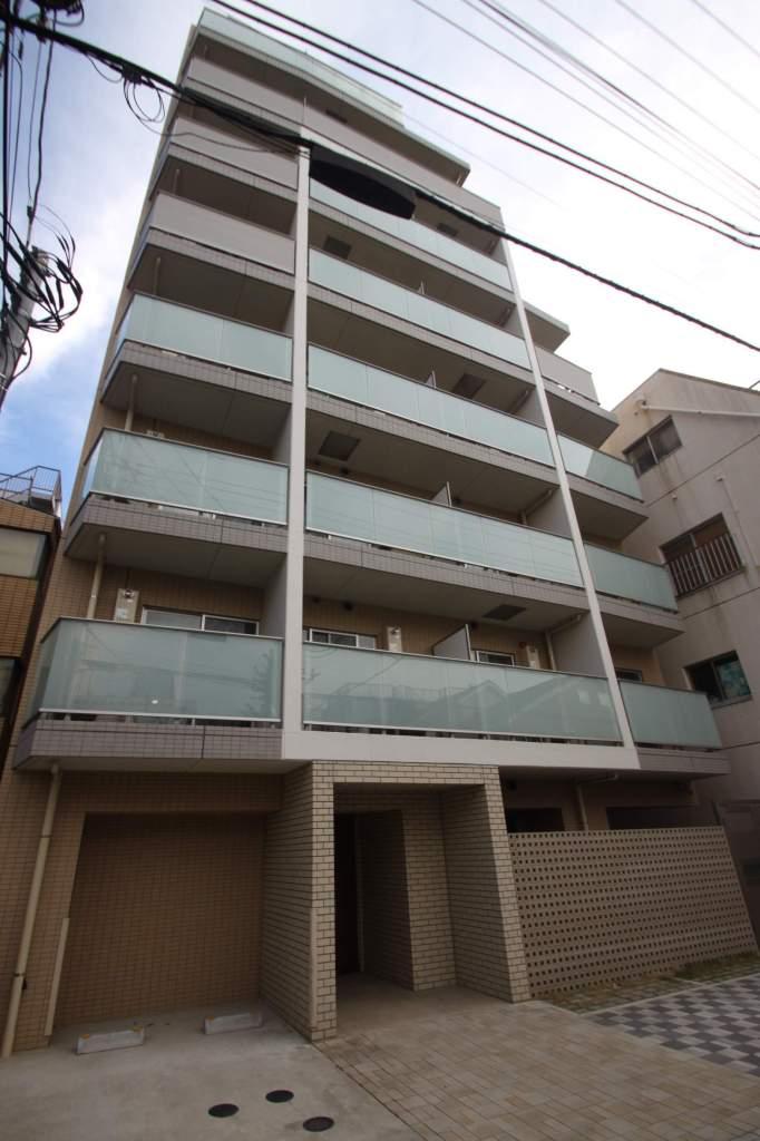 東京都江東区、越中島駅徒歩5分の築1年 8階建の賃貸マンション