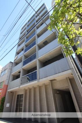 東京都江東区、茅場町駅徒歩12分の築3年 8階建の賃貸マンション
