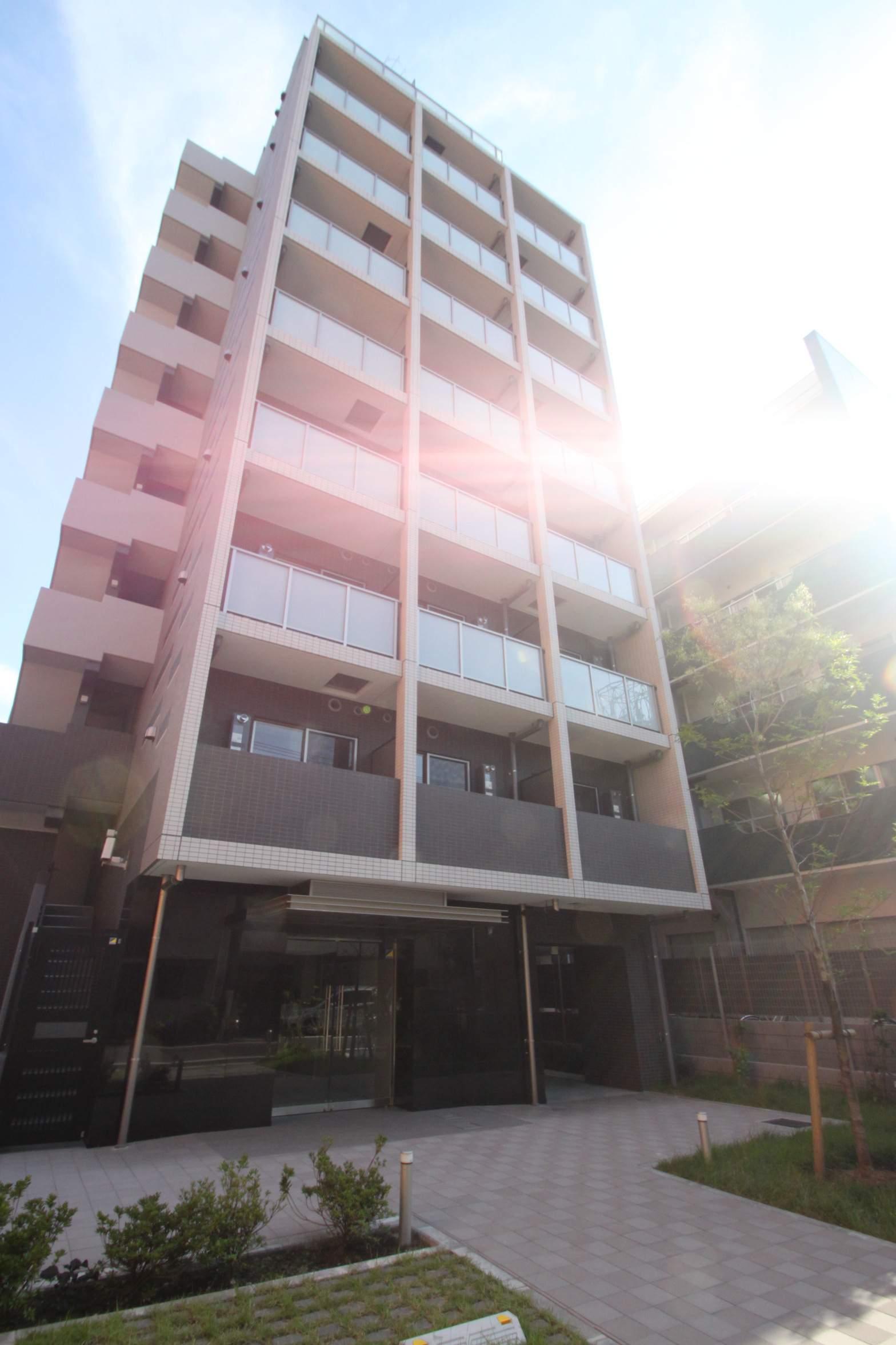 東京都江東区、門前仲町駅徒歩6分の築1年 10階建の賃貸マンション