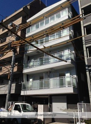 東京都墨田区、両国駅徒歩10分の新築 5階建の賃貸マンション
