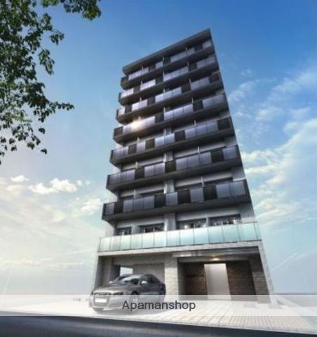 東京都江東区、清澄白河駅徒歩10分の築1年 9階建の賃貸マンション
