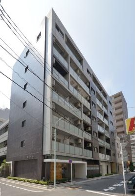 東京都中央区、八丁堀駅徒歩4分の築2年 7階建の賃貸マンション