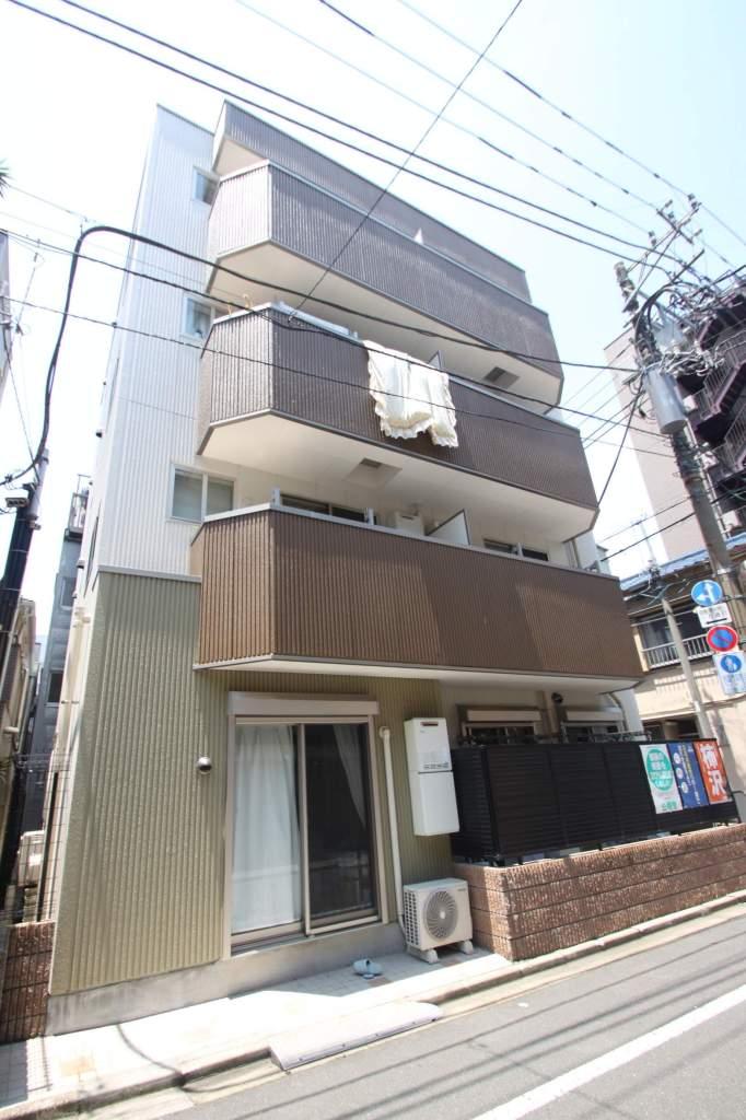 東京都江東区、清澄白河駅徒歩5分の築4年 4階建の賃貸マンション