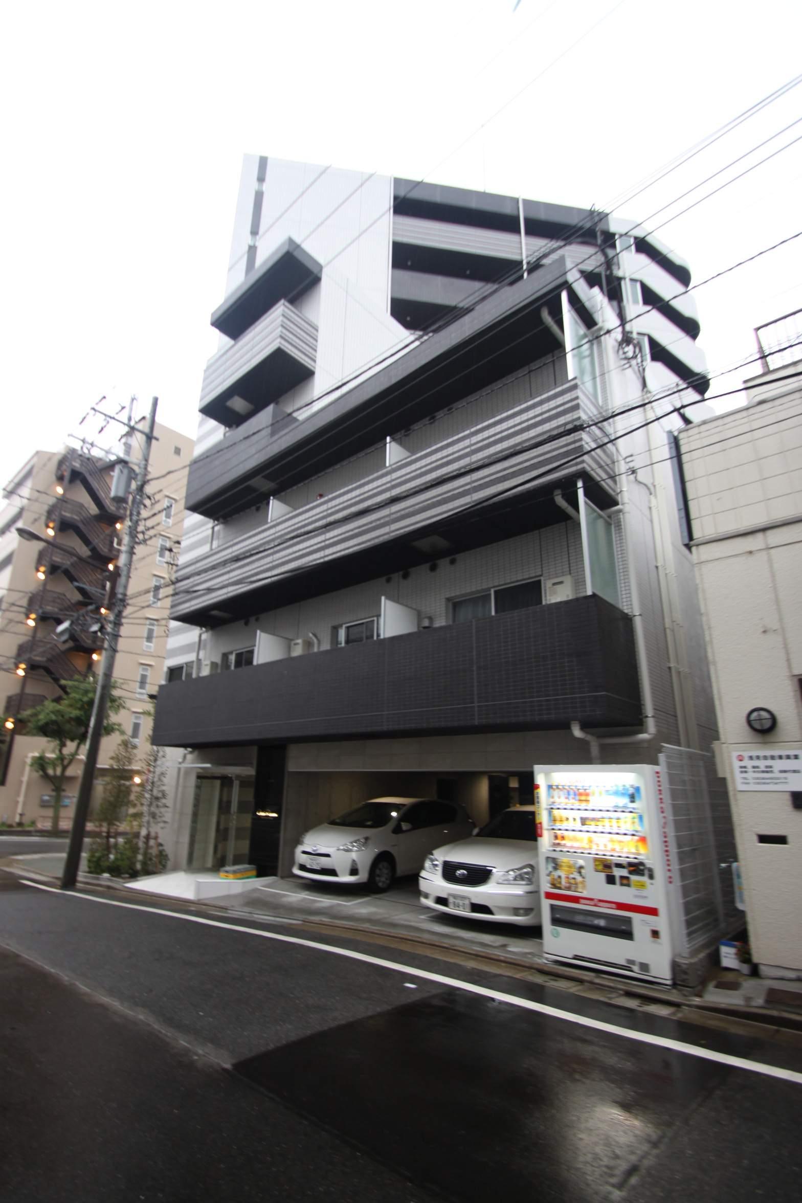 東京都江東区、潮見駅徒歩6分の新築 9階建の賃貸マンション