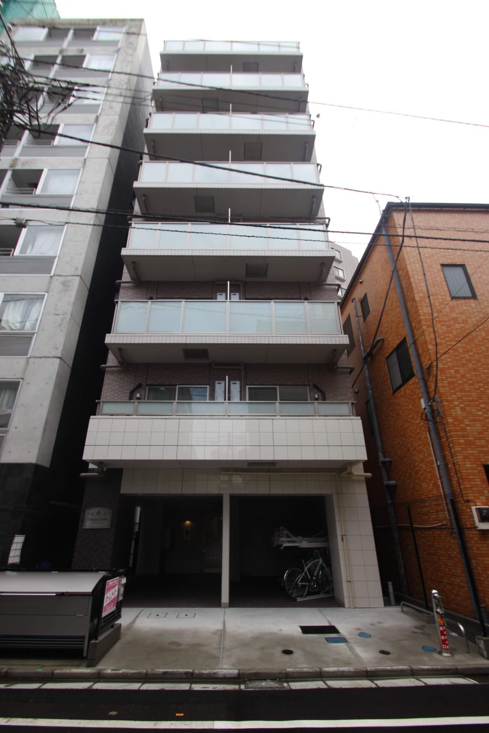 東京都江東区、両国駅徒歩9分の新築 8階建の賃貸マンション